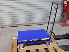 Worksmart Hydraulic Platform Scissor Lift Cart 400 Lb Capacity Ws Mh Lftb2 101