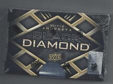 UPPER DECK  2017-18  BLACK DIAMOND  FACTORY SEALED HOCKEY HOBBY BOX