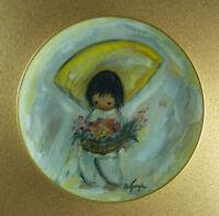 THE FLOWER BOY Plate The De Grazia Children Series Indians of the Southwest 1979