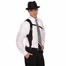 Roaring 20s Gun Holder Adults Gangster 1920s Mafia Mob Fancy Dress Accessories