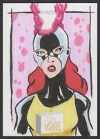 2019 Flair Marvel Sketches Sketch Card Jean Grey 1/1 by Daniel Riveron Auto