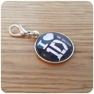 One**direction ** 1D ** BAND round clip on charm for bracelet