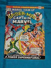 MARVEL TEAM-UP # 16, Dec. 1973, SPIDER-MAN & CAPTAIN MARVEL, Very Good Plus