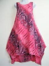 Round Neck Summer/Beach Paisley Dresses for Women