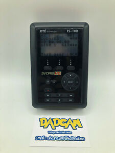FS-100 DTE Technology HD Portable DTE Recorder HD 250G. VX1000 TAPELESS solution