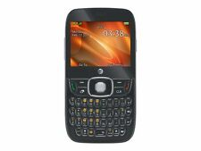 BRAND NEW AT&T Z432 GoPhone Prepaid Cellular Phone - Black - QWERTY Phone