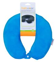 Memory Foam Travel Pillow With Clip Comfort Soft Neck Cushion Flight Holiday AU