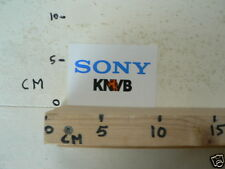 STICKER,DECAL SONY KNVB VOETBAL FOOTBALL SOCCER A