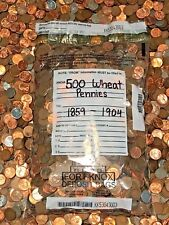 OLD UNITED STATES LINCOLN WHEAT PENNIES COLLECTION SET COINS CENTS WHEATIES EAR