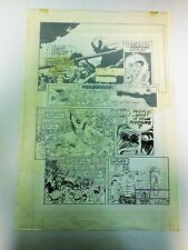 Original Comic Art for National Lampoon?   Wrestling Story Page