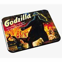 Tapis de Souris Godzilla Rétro Poster Cinéma Vintage