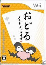 Used Wii Odoru Made in Wario  Nintendo JAPAN JP JAPANESE JAPONAIS IMPORT