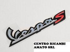 656228 SCRITTA ''VESPA S'' ORIGINALE PIAGGIO VESPA S 2T & COLLEGE 50 2012 12