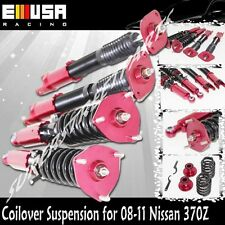 Coilover Suspension Lowering Kits RED for 08-11 Nissan 370Z