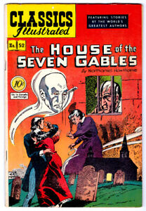 CLASSIC COMICS #52 HRN 53 in FN/VF comic 1st ed. THE HOUSE OF SEVEN GABLES