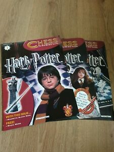 Collectible Issue 1 Harry Potter Chess Magazine