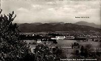 Bad Krozingen Postkarte ~1950/60 Totale mit Sanatorium Theresienbad und Belchen