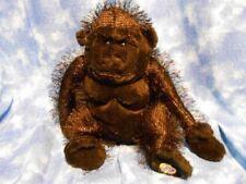 "Ganz Webkinz 9"" GORILLA HM040 Plush Toy - No Code"