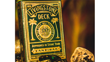 BRAND NEW CARDS -  Deluxe Edition Livingstone Playing Cards by Pure Imagination