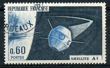 STAMP / TIMBRE FRANCE OBLITERE N° 1465  SATELLITE A1