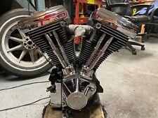 HARLEY SOFTAIL DYNA TOURING 80CI 1340 EVO ENGINE MOTOR RUNS SEE VIDEO 10K MILES