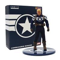 Captain Rogers Captain America Marvel Mezco One:12 Collective 1:12 Figure  12