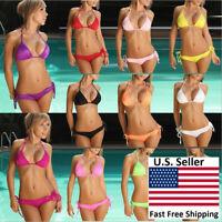 Sexy Ladies Bikini Set Swimwear Swimsuit Classic Fit Design Free Size Non Padded
