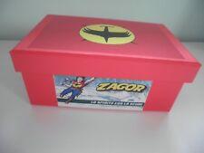 Album Anastatica Reproduction ZAGOR Solaris Box Set Figurine Completo Calcarelli