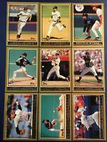 1998 Topps SAN DIEGO PADRES Complete Team Set (12) TONY GWYNN Sharp LOOK !