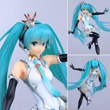 Anime Vocaloid HATSUNE Miku Racing 2014 1/8 PVC Figure Figurine No box 20cm
