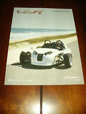 2013 V13R CAMPAGNA TRIKE   ***DOUBLE SIDED SALES SHEET / BROCHURE