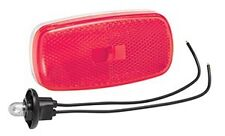 Bargman #59 RED Clearance Light w/ base for RV / Camper / Trailer