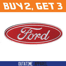 """Offer Buy 2,Get 3 > Ford 100% Embroidered Logo Crest Badge Iron/Sew On Patch 4"""""""