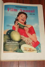 PICTUREGOER FILM ANNUAL1957 58 ANNUAL CHILDRENS BOOK JAYNE MANSFIELD GRACE KELLY