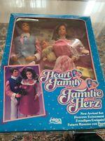 1985 Barbie E Ken Famiglia Cuore Heart Family New Arrival Set 2415 Nrfb