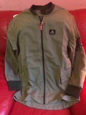 Adidas Derrick Rose Chicago Bulls Bomber Jacket NBA Nwt Mens Size L Green