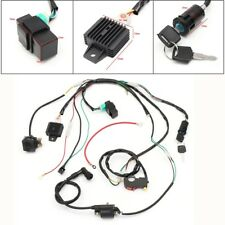 Wiring Harness Solenoid Coil Rectifier Switch Kit 50 70 90 110 125cc Quad Bike