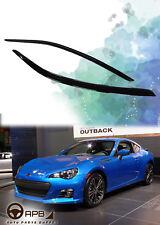 For Subaru BRZ 12-18 Window Visor Guard Vent Deflector Weather Shield Door Visor