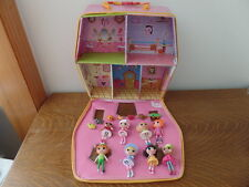 Mini Laloopsy Lot - Carry Storage Case, Dolls and Pets