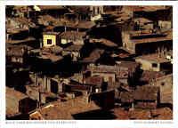 Frankreich France Carte Postale PROVENCE Postkarte Blick Dächer von Entrevaux
