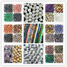 Natural Mixed Gemstone Round Spacer Loose Beads 4mm,6mm,8mm,10mm,12mm