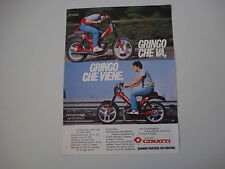 advertising Pubblicità 1981 CIMATTI GRINGO 50