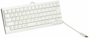 PFU Happy Hacking USB Keyboard Lite2 for Mac Japanese Array White PD-KB220MA