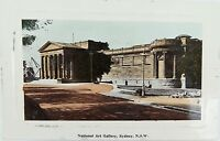 .SYDNEY , NATIONAL ARTS GALLERY  EARLY 1900s POSTCARD ,  NEW SOUTH WALES