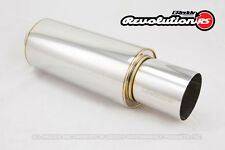 "GReddy Revolution RS Universal Muffler Exhaust Turbo 63.5mm / 2.5"" Inlet Piping"
