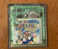 Super Mario Bros. Deluxe GBA used video game tested working Nintendo