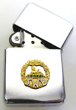 SWB SOUTH WALES BORDERERS REGIMENTAL WINDPROOF CHROME PLATED LIGHTER