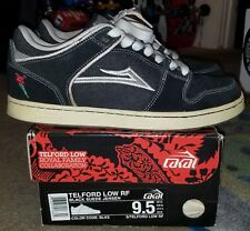Vintage Lakai Telford Low Sz 9.5 Denim Koston Mariano Mike Mo Carroll howard