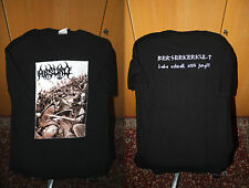 Absurd - Berserkerkult T Shirt  XL Graveland Goatmoon Baptism Satanic Warmaster
