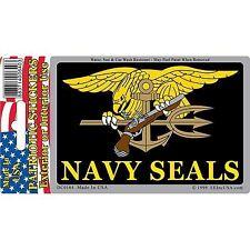 "United States Navy Seals Trident Logo Emblem 3x4"" Decal"